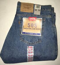 Levis 505 Reg. fit Straight leg 36x32 Vintage 1996 New with tags
