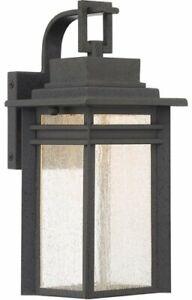 Quoizel BEC8406SBK Beacon Outdoor Lantern in SBK - Stone Black
