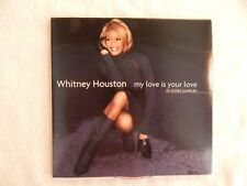 "Whitney Houston ""My Love Is Your Love"" VERY RARE PROMO ONLY IN STORE SAMPLER CD!"