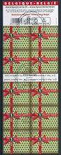 [B37] Belgique B148, le carnet complet Adhesif - Oblitéré. Cote : 23€