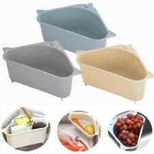 Suction Cup Kitchen Sink Sponge Soap Storage Rack Drain Strainer Organizer 2020