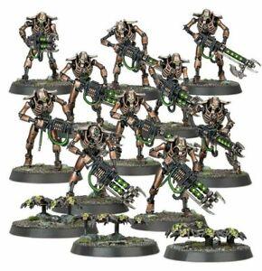 Warhammer 40k Indomitus NEW Necron Warriors x10 + Scarab Swarms x3 NOS