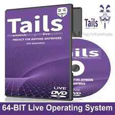 Tails 2020 Anonymous Live Private Internet Browsing- Leave no trace Any PC DVD