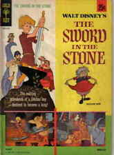 Sword in the Stone #1 VG; Gold Key | low grade comic - save on shipping - detail