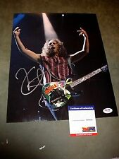 "WOW! KIRK HAMMETT ""METALLICA"" SIGNED 11X14 PHOTO psa/dna 2"