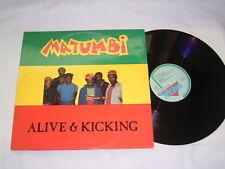 "12"" - Matumbi Alive & Kicking + Last Funk - 1984 Belgium # cleaned"