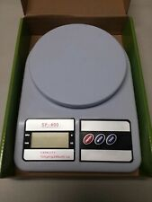 Electronic LCD Digital Kitchen Scale SF-400. Slightly used w/ batteries