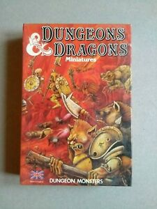 Dungeons & Dragons Miniatures Dungeon Monsters Citadel D&D TSR SEALED