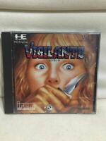 """"""" Visirante """" NEC PC Engine Game Software HuCARD Used from Japan"""