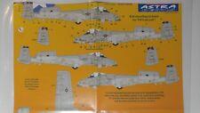 1/72 ASTRA DECALS: A-10 WARTHOG 81FS USAFE SPANGDAHLEM