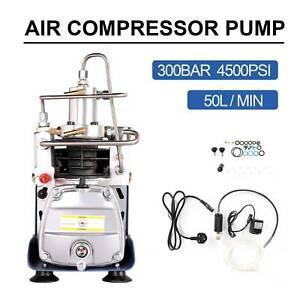 300Bar Electric Air Compressor Pump HPA Paintball Airgun High Pressure Rifle PCP