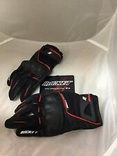 JOE ROCKET MENS SUPER MOTO TOUCH RACING GLOVES  BLACK RED SIZE XXL 2XL REAL PIC