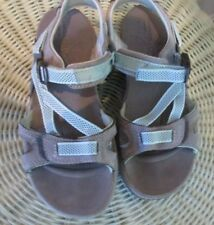Merrel strappy water shoes sandals blue and gray sz 6 M