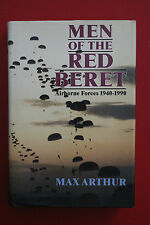 *1st ED.* MEN OF THE RED BERET - AIRBORNE FORCES 1940-1990 Max Arthur HC/DJ 1990