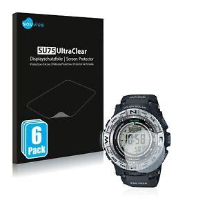 Screen Protector for Casio Pro Trek PRW-3500-1 Protective Film Shield Ultra