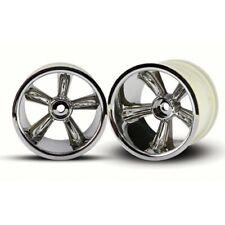 Traxxas TRA4172 Rear Pro Star Wheel, Chrome(2) Nitro Stampede/Rustler/Sport Jato