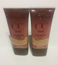 2X - CoverGirl Queen Collection CC Cream Foundation NEW 1 fl oz