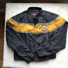 Biker Design Collection Motorcycle Jacket Reflective Stripes Women's Medium