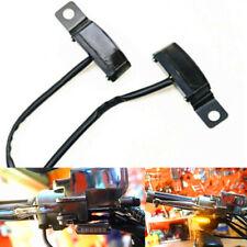LED Flowing Blinker Black Mini Brake Clutch Lever Mirror Bolt Mount Turn Signal