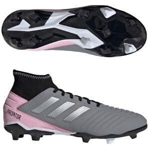 Adidas Predator 19.3 FG Soccer Cleats F97528 Women's Size 12 / Men's Size 10.5