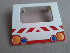 LEGO Duplo Heckklappe f Krankenwagen Transporter Kofferraum Klappe Tür aus 4979
