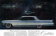 Cadillac Sedan de Ville FLEETWOOD SIXTY SPECIAL Sedan 1961 Centerfold Print Ad