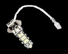 2 Lampadine H3 25 SMD LED luce bianca 6.000 K per auto moto o altri veicoli
