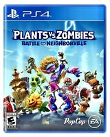 Plants vs Zombies: Battle for Neighborville PS4 BRAND NEW SEALED Playstation 4