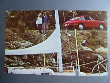 1965 Porsche Red 911 Coupe Postcard Post Card RARE!! Awesome L@@K