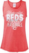 Girls Sz 10 12 5th   Ocean Cincinnati Reds Tank a78a494fe