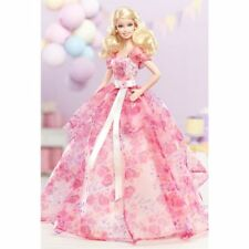 BARBIE DA COLLEZIONE BIRTHDAY WISHES 2014 BCP64 BARBIE MATTEL NUOVA