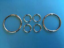 Daimler Conquest Century Instrument Chrome Rim Set
