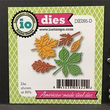 Small Leaf metal die cut stencil Impression Obsession craft dies Autumn,leaves