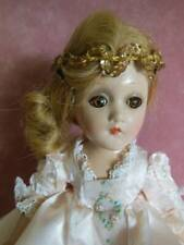 VINTAGE COMPOSITION MADAME ALEXANDER FAIRY PRINCESS DOLL TAGGED ORIGINAL 11""