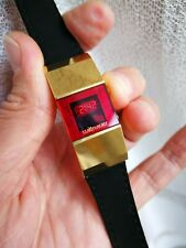 Wittnauer Polara LED Ladie's Watch Yellow Gold plated Line's LED