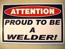 FUNNY WELDER WELDING ROD MIG TIG ARC WIRE HELMET ELECTRODES STICKER DECAL PR 373
