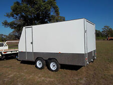 14ft x 7ft Enclosed trailer 2000 kg GVM