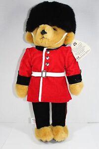 VINTAGE MERRYTHOUGHT BRITISH ROYAL GUARDSMAN HANDMADE IN UK TEDDY BEAR QVC NEW!