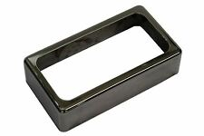 "Open Humbucker Pickup Cover - ""Smoked Black Nickel"""