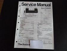 ORIGINAL SERVICE MANUAL TECHNICS TUNER sa-ch750