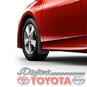 OEM TOYOTA EURO STYLE MUDGUARDS FRONT AND REAR 2016 - 2019 TOYOTA PRIUS
