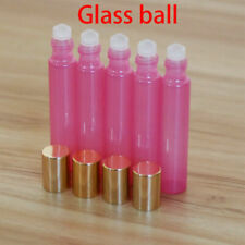 5pcs ROLL ON BOTTLES Empty Glass Ball Essential Oil Perfume Roller Ball Bottle
