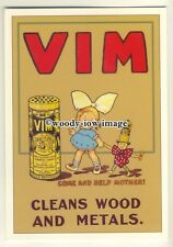 ad3599 - Vim - Cleanser & Polisher - Lever Brothers -  Modern Advert Postcard