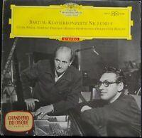 Bartok - Piano Concertos No. 2 & 3, FRICSAY, GEZA ANDA, RSO, DGG Red STEREO
