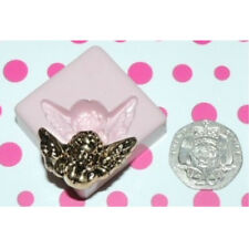 Cherub Face & Wings Mould by Fairie Blessings