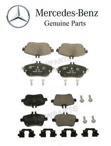 For Mercedes Benz C117 CLA250 X156 GLA250 Rear+Front Brake Pad Set Genuine