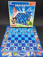 Disney Draughts Board Game With Instructions Complete Kids Checkers-Trefl