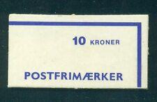 Denmark 1983 10 Kr  Booklet HA18