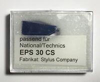 Ersatz-Nadel EPS 30CS für Technics SL-BD2 SL-BD3 SL-DD33 SL-QD2 SL-QD33 NEU