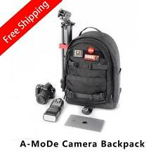 Black Professional DSLR Camera and Laptop Backpack Gopro nikon canon Free Ship